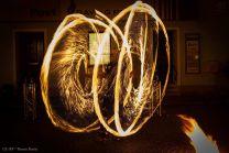 Feuershow Adventmarkt