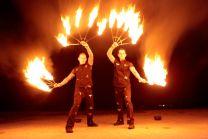 Feuershow Geburtstag