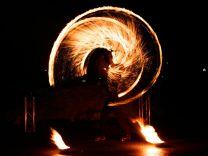Feuershow Feuerherz
