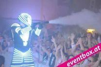 LED Robotershow Lichtshow Lightshow Showact