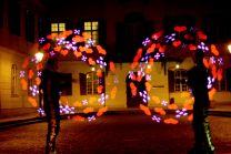 LED Hochzeitsshow