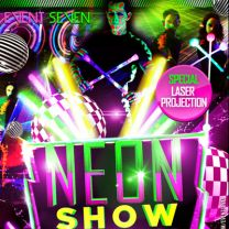 Neonshow Lightshow Lichtshow LED Show Showact