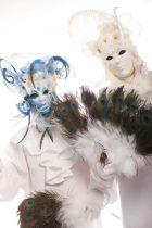 Stelzengeher Venezianisch Karneval