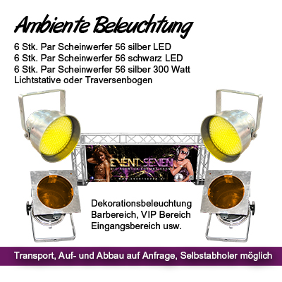 Ambiente Beleuchtung