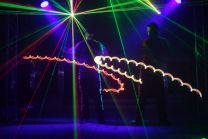 Lasershow Lichtshow Leuchtshow LED Show