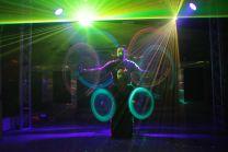 LED Show Lasershow Trio Leuchtshow Lightshow