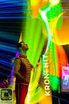 LED Jonglage Lichtshow Leuchtshow Showact