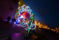 LED Show Firmenfeier