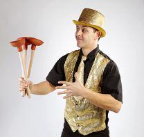 Zauberer-Kindergeburtstag