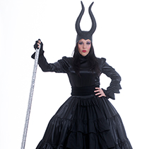 Stelzengeherin Dunkle Fee Maleficent